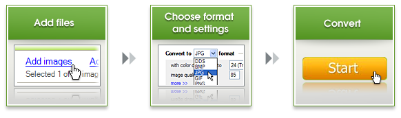 How to convert images with Image Converter Plus